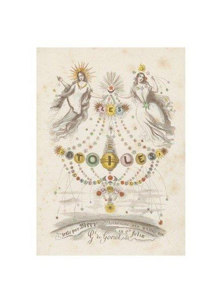 JOHN DERIAN John Derian Les Etoiles Card w/ Envelope