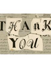 JOHN DERIAN John Derian Thank You Postcard