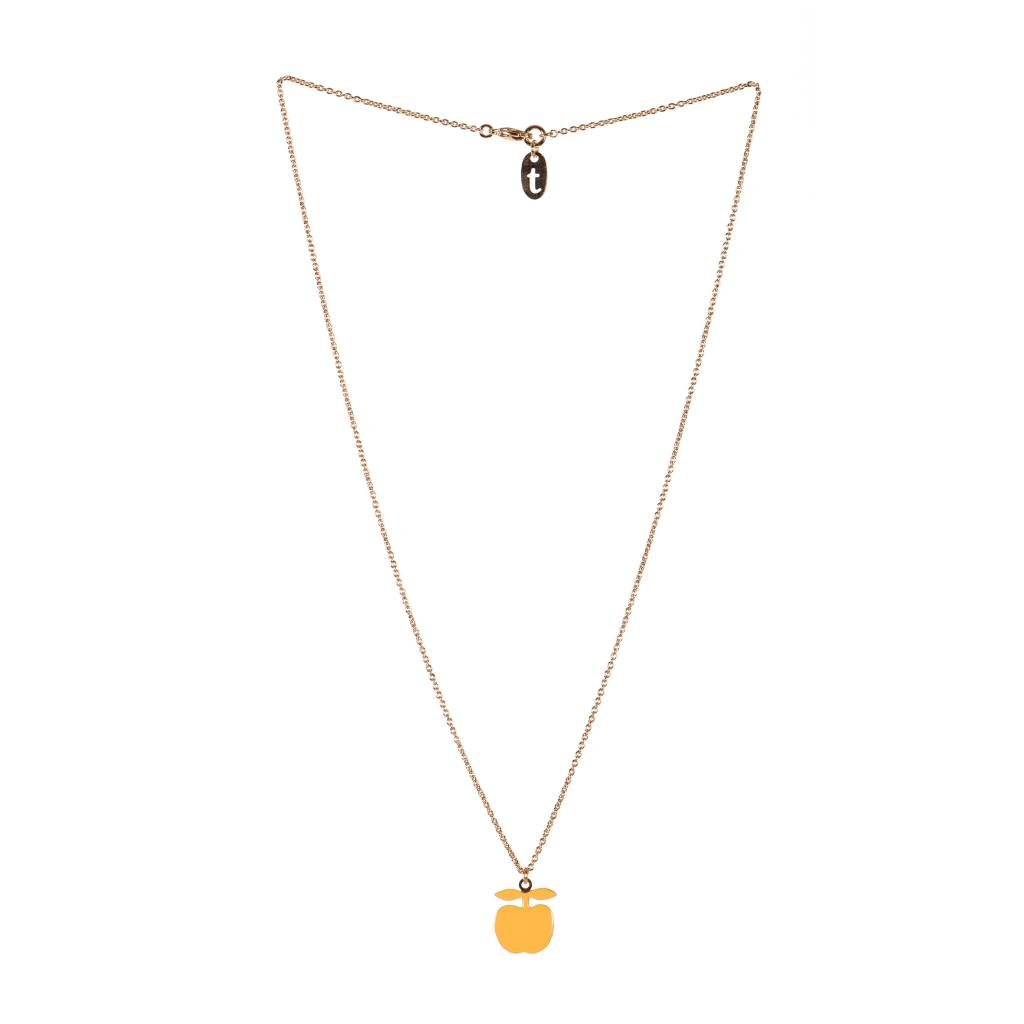 TITLEE Little Titlee Amelia Necklace in Safran