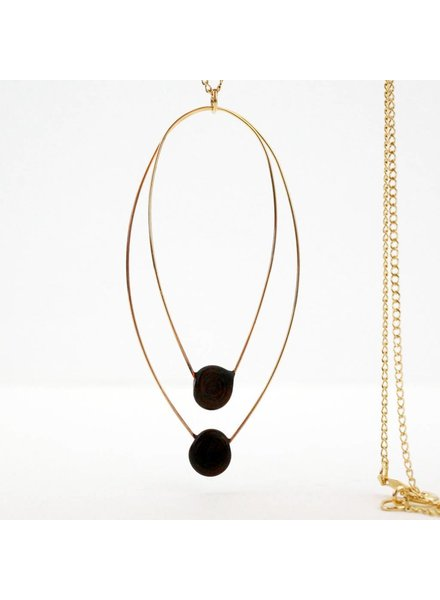 VERRE Verre Aerie Twin Necklace Long