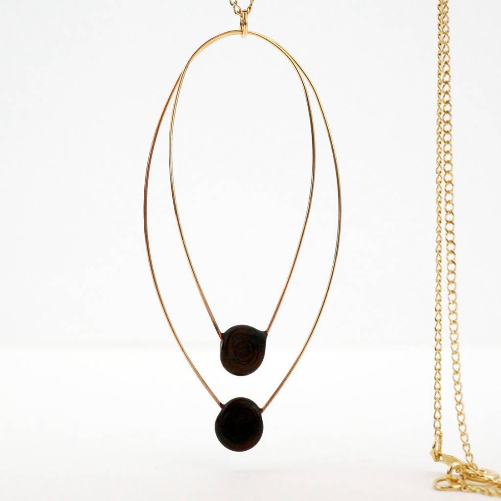 VERRE Verre Aerie Twin Necklace Long