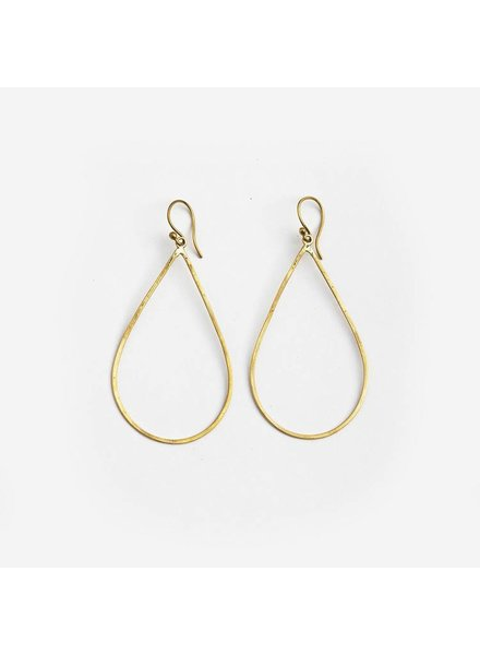 MEYELO Meyelo Tear Drop Earrings
