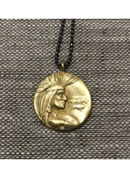 SAINT MART Saint Mart NYC Indian Head Pendant