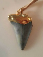 FIN Fin Montauk Gold Dipped Big Fin Necklace