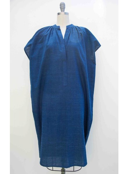 TWO Two Khadi Cotton Indigo Dress