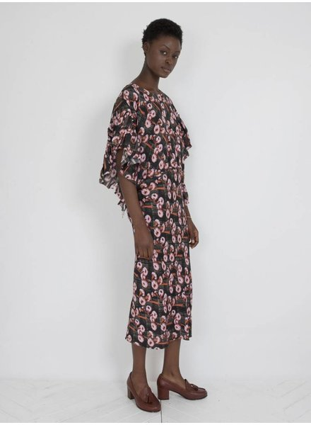 A DETACHER A Detacher Bell Dress Pink Floral Multi  M/L
