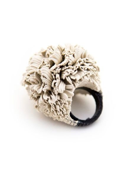 SILKA DESIGN Silka Bague Boule Silicone Ring XXL