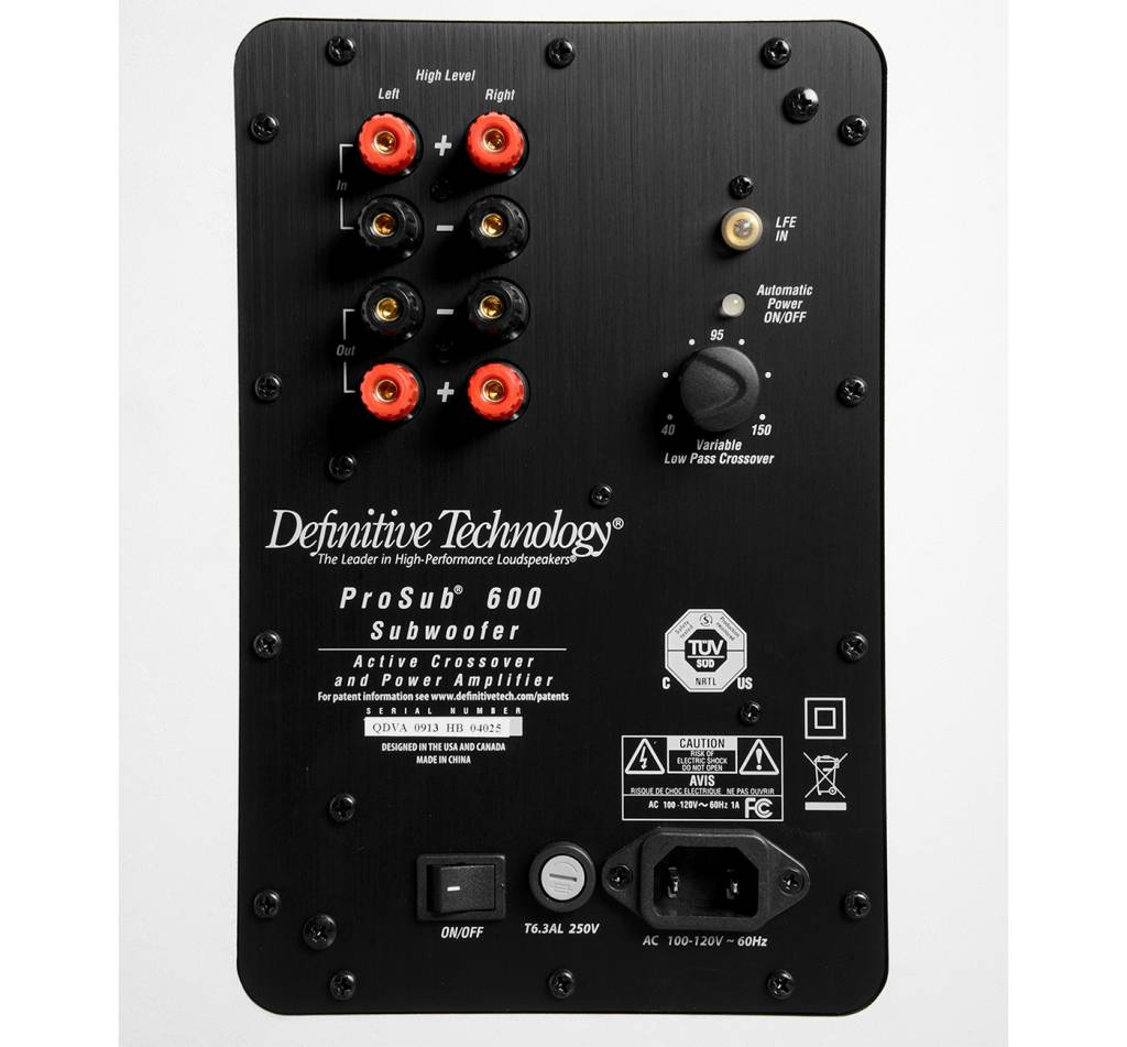 Definitive Technology Def Tech ProCinema 600 5.1 System