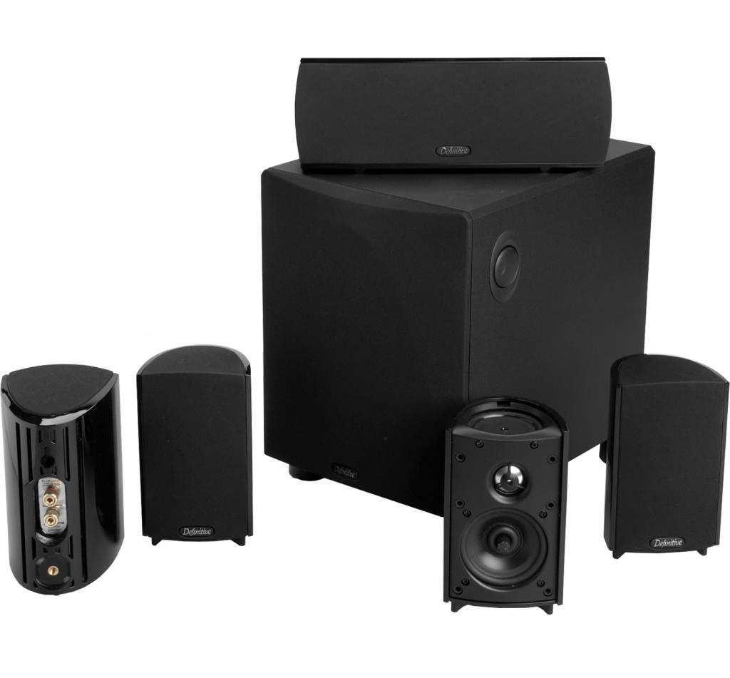 Def Tech ProCinema 600 5.1 Speaker System