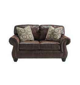 Signature Design Breville, Loveseat, Espresso 8000335