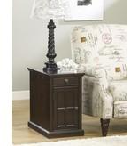 Signature Design Laflorn, Chairside End Table, Dark Brown T127-668