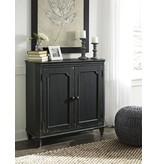 Signature Design Mirimyn, Door Accent Cabinet, Antique Black T505-840