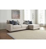 Signature Design Kendleton, Left Arm Facing Sofa, Stone 5470466