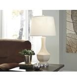 Signature Design Suellen, Ceramic Table Lamp, Cream L100424
