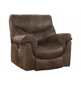 Signature Design Alzena, Power Rocker Recliner, Gunsmoke 7140098