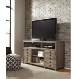 Signature Design Keeblen, TV Stand With Fireplace Option, Grayish Brown W678-38