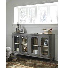 Signature Design Mirimyn, Door Accent Cabinet, Antique Gray T505-662