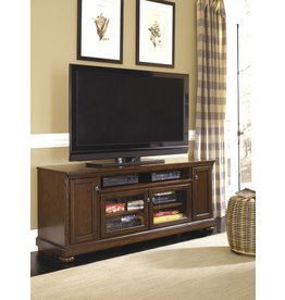 Signature Design Porter, Extra Large TV Stand, Rustic Brown W697-58