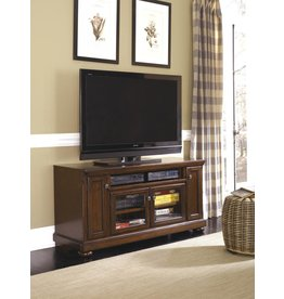 Signature Design Porter, Large TV Stand, Rustic Brown W697-38