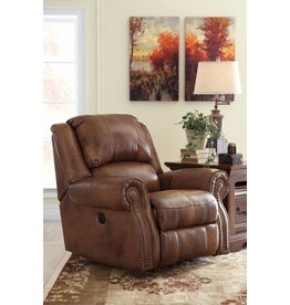 Signature Design Walworth, Power Rocker Recliner, Auburn U7800198