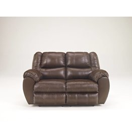 Signature Design McAdams, Reclining Loveseat, Brown, 9230086