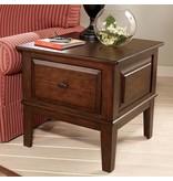 Signature Design Larchmont, Square End Table, Brown, T422-2