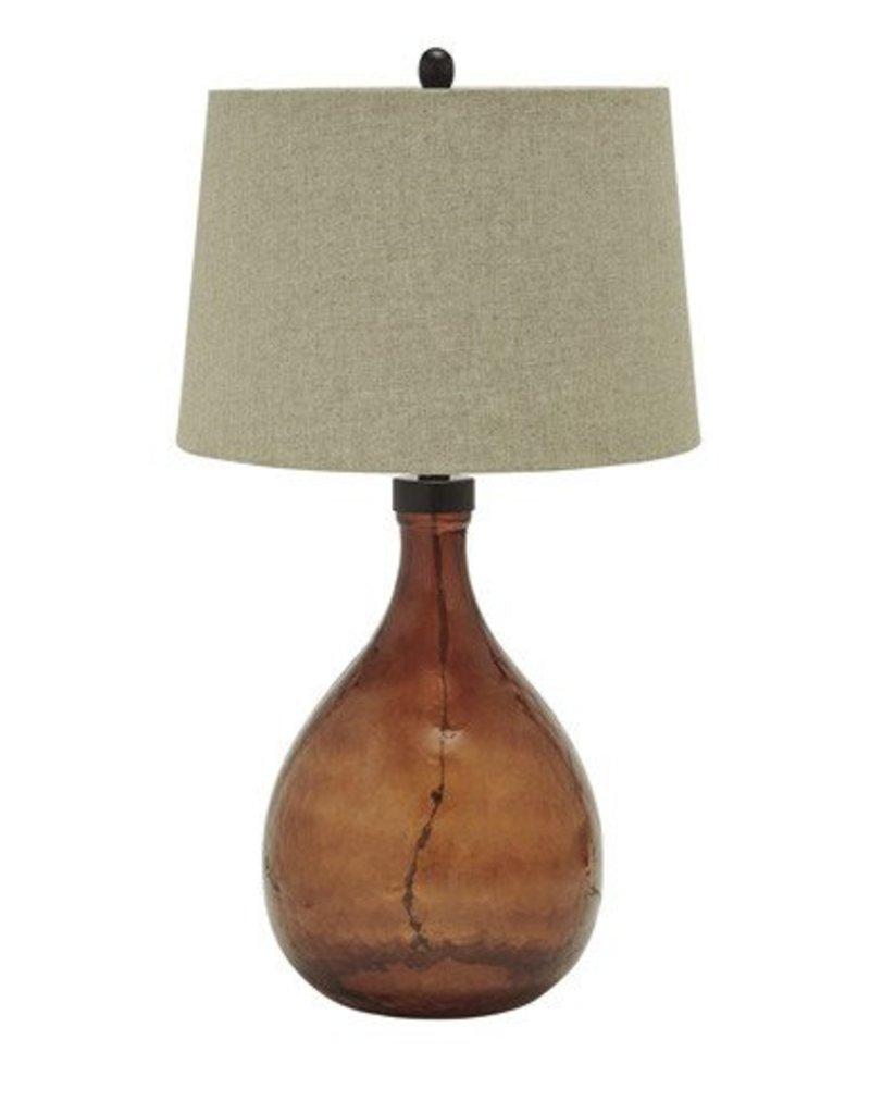 Signature Design Arayna, Glass Table Lamp, Brown, L430344