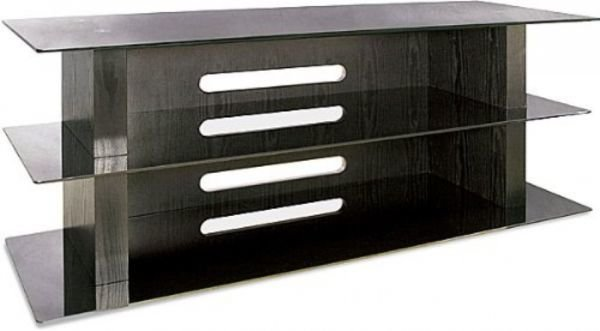Bell'O Bell'O AVSC2055B Metal and Glass A/V furniture