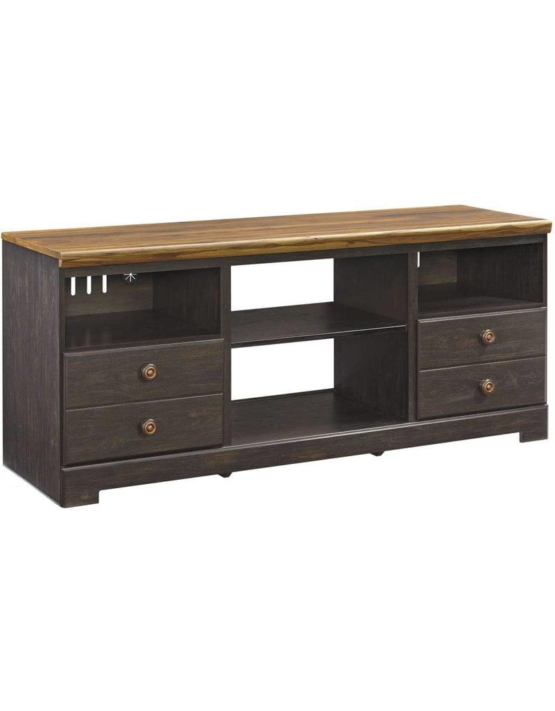 Signature Design Maxington, LG TV Stand w/Fireplace Option, Two Tone, W220-68