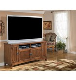 Signature Design Cross Island Large TV Stand - Medium Brown, W319-38
