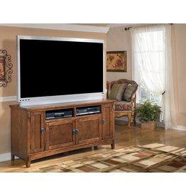 Signature Design Cross Island Large TV Stand - Medium Brown, W319-38