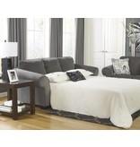 Signature Design Makonnen Queen Sofa Sleeper - Charcoal, 7800039