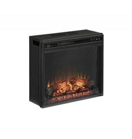 Signature Design Entertainment Accessories Fireplace Insert - Black, W100-01