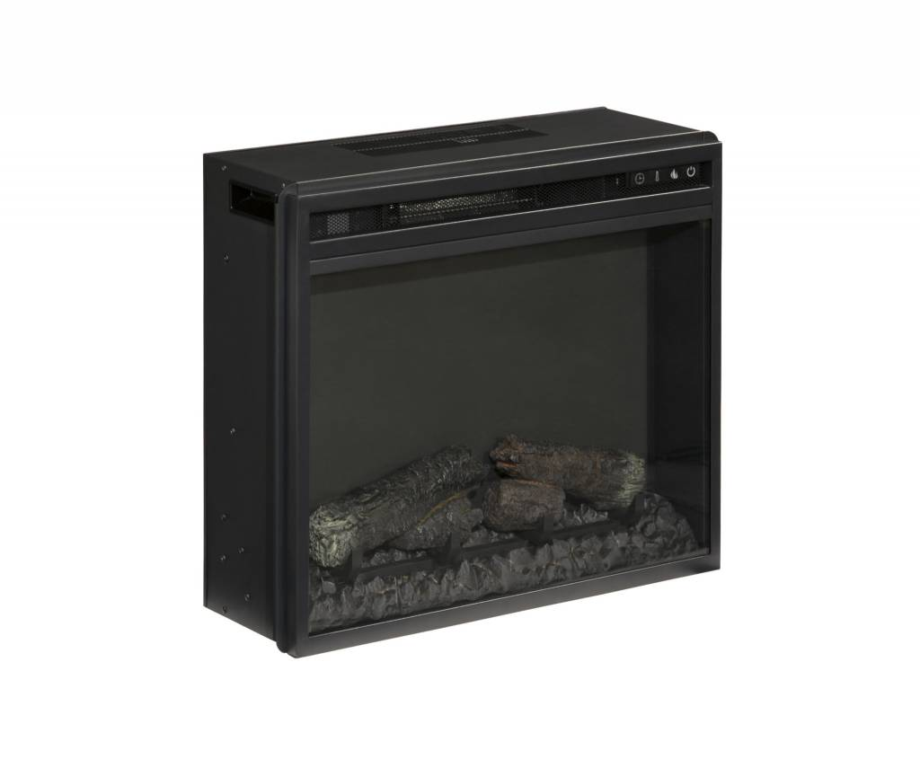 Signature Design Entertainment Accessories Fireplace Insert - Black, W100-01