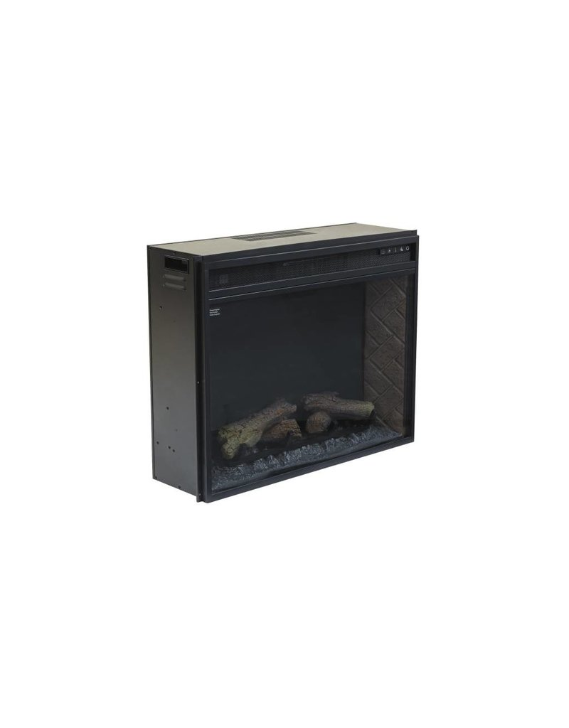 Signature Design Entertainment Accessories LG Fireplace Insert Infrared - Black, W100-21