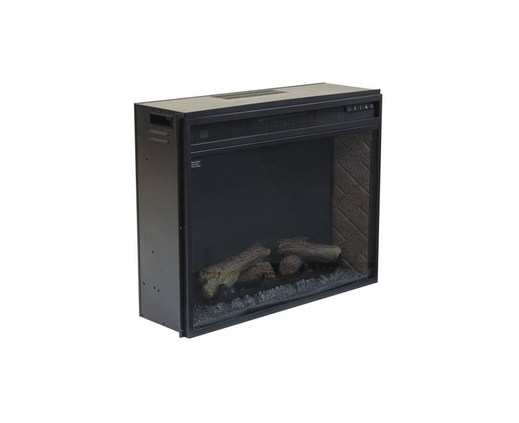 Signature Design Entertainment Accessories LG Fireplace Insert Infrared - Black, W100-21