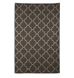 "Signature Design Daponte Large Rug - Gray, 90""X120"""