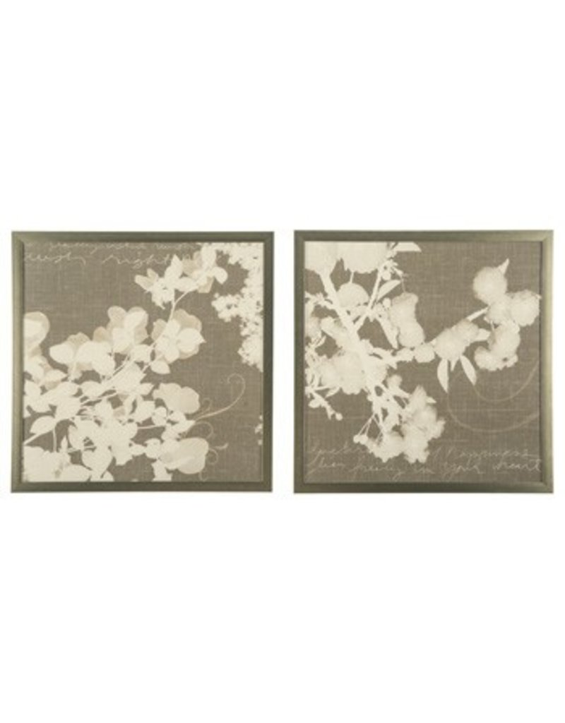 "Wall Art Set Of 2 signature design baibre wall art set (2/cn) - cream/taupe 29.13"" x"