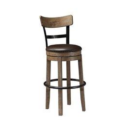 Signature Design Pinnadel, tall UPH swivel bar stool D542-130