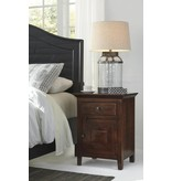 Signature Design Charlowe Night Stand - Warm Brown