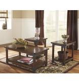 Signature Design Murphy Occasional Table Set (3/CN) - Medium Brown