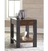 Signature Design Heidiho Chair Side End Table - Light Brown