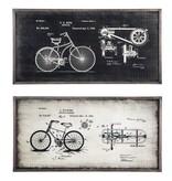Signature Design Destino Wall Decor Set (2/CN) - Black/Silver Finish