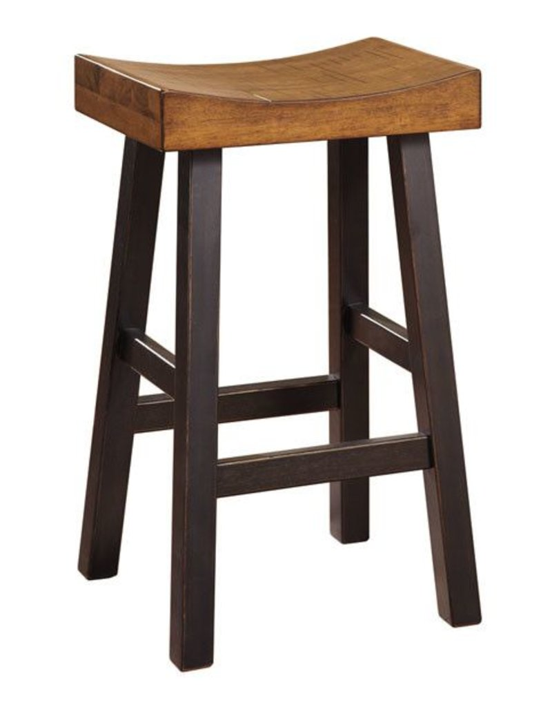Signature Design Glosco Tall Stool  - Two-tone