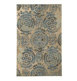 Signature Design Alazne Medium Rug - Blue/Ivory 5' X 8'