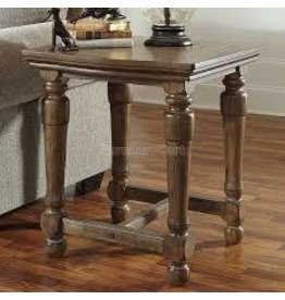 Signature Design Tanshire Square End Table - Light Brown T688-7