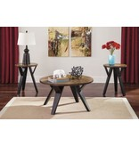 Signature Design Ingel Occasional Table Set (3/CN) - Two-tone Brown