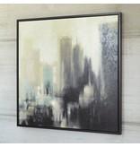 Signature Design Dyami Wall Art - Black/Gray/Ivory
