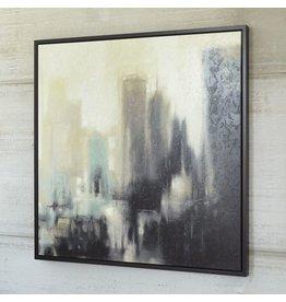 Signature Design Dyami Wall Art - Black/Gray/Ivory A8000206