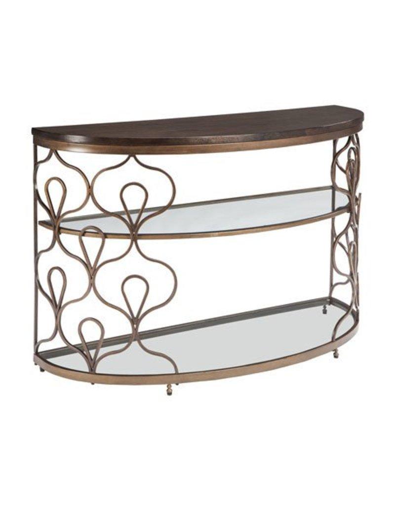 Signature Design Fraloni Sofa Table- Bronze Finish T086-4